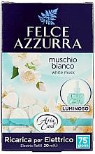 Parfumuri și produse cosmetice Difuzor aromatic, electric - Felce Azzurra White Musk (rezervă)