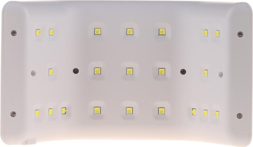 Lampă UV/LED, 36W, albă - Semilac — Imagine N5