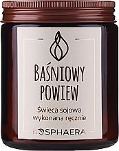 """Parfumuri și produse cosmetice Lumânare aromată din soia """"Fairy Breeze"""" - Bosphaera Fairy-tale Breeze"""