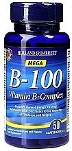 "Parfumuri și produse cosmetice Supliment alimentar ""Complex de vitamine B"" - Holland & Barrett Mega B-100 Vitamin B Complex"