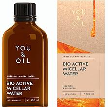 Parfumuri și produse cosmetice Apă micelară - You & Oil Amber. Bio Active Micellar Water
