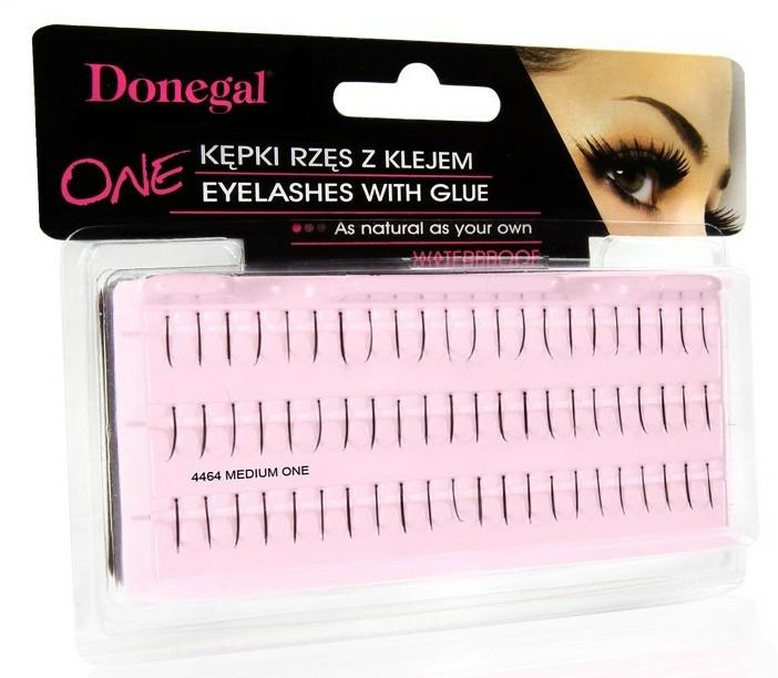 Gene false, 4464 - Donegal Eye Lashes With Glue Medium One — Imagine N1