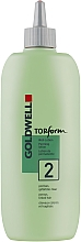 Parfumuri și produse cosmetice Perm pentru păr poros și vopsit - Goldwell Topform 2
