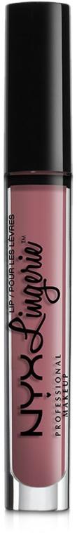 Ruj lichid mat - NYX Professional Makeup Lip Lingerie Liquid Lipstick