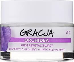 Parfumuri și produse cosmetice Cremă revitalizantă antirid cu extract de orhidee și acid hialuronic - Gracja Orchid Revitalizing Anti-Wrinkle Day/Night Cream