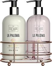 Parfumuri și produse cosmetice Set - Scottish Fine Soaps La Paloma Hand Care Set (h/lot/300ml + h/soap/300ml)