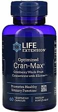 """Parfumuri și produse cosmetice Supliment alimentar """"Concentrat de afine și hibiscus"""" - Life Extension Optimized Cran-Max"""