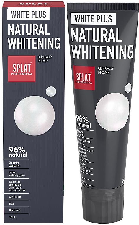 Pastă de dinți - SPLAT Professional White Plus Natural Whitening