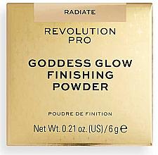 Parfumuri și produse cosmetice Pudră de față - Revolution Pro Goddess Glow Finishing Powder