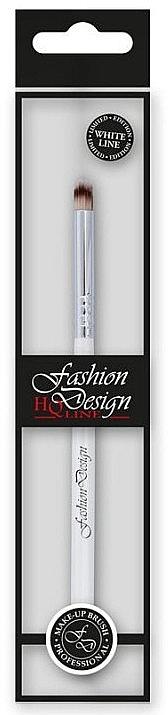 Pensulă pentru fard de ochi, 37238 - Top Choice Fashion Design White Line — Imagine N1