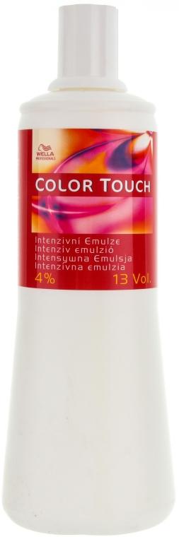 Emulsie pentru vosea de păr Color Touch - Wella Professionals Color Touch Emulsion 4%