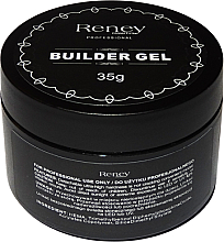 Parfumuri și produse cosmetice Gel de unghii, cu shimmer - Reney Cosmetics Builder Gel Shimmer