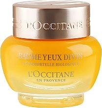 Balsam antirid pentru pleoape - L'Occitane Immortelle Divine Eye Balm — Imagine N2