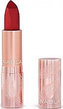 Parfumuri și produse cosmetice Ruj mat de buze - Nabla Cult Matte Soft Touch Lipstick