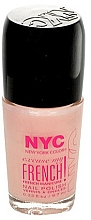 Parfumuri și produse cosmetice Lac de unghii - NYC Color Excuse My French! Manicure Nail Polish