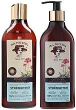 Parfumuri și produse cosmetice Set - Mrs. Potter's Triple Root (shm/390ml + cond/390ml)