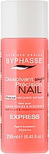 Parfumuri și produse cosmetice Dizolvant pentru lac de unghii - Byphasse Nail Polish Remover Express