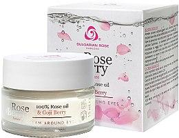 Parfumuri și produse cosmetice Cremă pentru conturul ochilor - Bulgarian Rose Rose Berry Nature Cream Around Eyes
