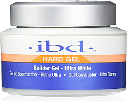 Parfumuri și produse cosmetice Gel de unghii, alb - IBD Builder Gel Ultra White