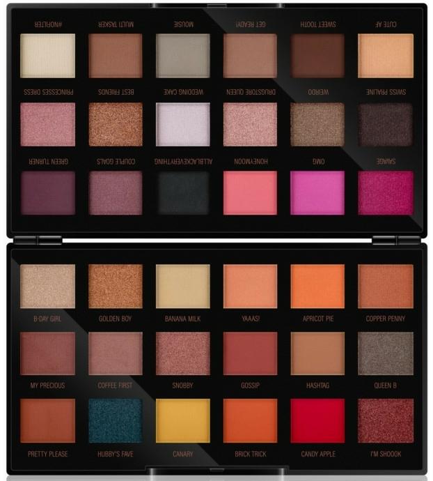 Farduri de ochi - Makeup Revolution X Petra 36 Shade Eyeshadow Palette — Imagine N1