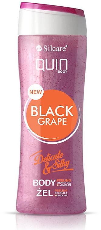 Gel-scrub cu extract de struguri negri pentru corp - Silcare Quin Peeling Black Grape
