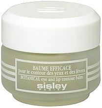 Parfumuri și produse cosmetice Balsam pentru conturul ochilor și buzelor - Sisley Baume Efficace Botanical Eye and Lip Contour Balm