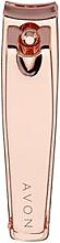 Parfumuri și produse cosmetice Clește pentru cuticule - Avon Rose Gold Nail Clippers
