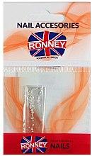 Parfumuri și produse cosmetice Strasuri pentru unghii, 00380, argintii - Ronney Professional Decoration For Nails