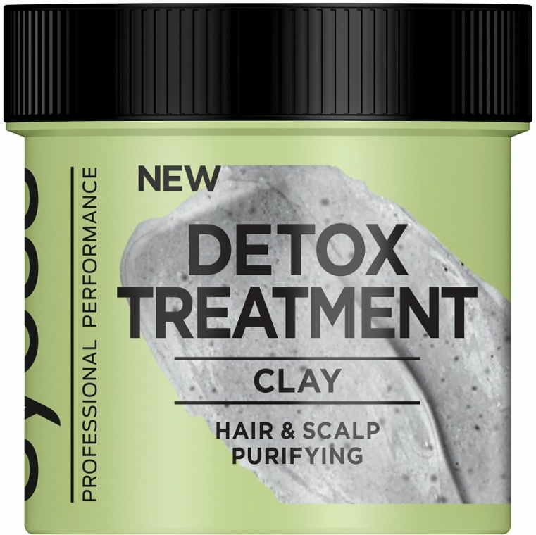 Mască de detoxifiere cu argilă pentru păr - Syoss Detox Treatment Clay — Imagine N2