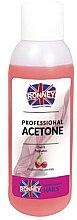 """Parfumuri și produse cosmetice Soluție pentru îndepărtarea ojei """"Vișină"""" - Ronney Professional Acetone Cherry"""