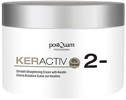 Parfumuri și produse cosmetice Cremă cu keratină pentru păr - PostQuam Keractiv Smooth Straightening Cream With Keratin