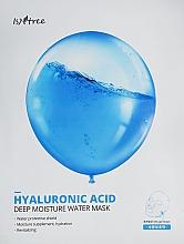 Parfumuri și produse cosmetice Mască hidratantă cu acid hialuronic - Isntree Hyaluronic Acid Deep Moisture Water Mask