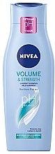 """Parfumuri și produse cosmetice Șampon de îngrijire """"Volum și îngrijire"""" - Nivea Hair Care Volume Sensation Shampoo"""