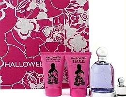 Parfumuri și produse cosmetice Jesus Del Pozo Halloween - Set (edt/100ml + b/l/50ml + sh/g/50ml + mini/4.5ml)