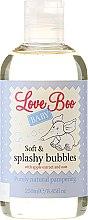 Parfumuri și produse cosmetice Spumă de baie pentru copii - Love Boo Baby Soft & Splashy Bubbles