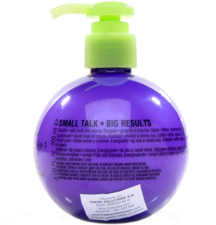 Crema pentru volum și îndesirea firului de păr - Tigi Bed Head Mini Small Talk 3-in-1 Thickifier — Imagine N3