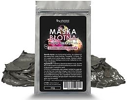 Parfumuri și produse cosmetice Mască din argilă cu spirulină pentru față - E-fiore Mud Face Mask With Spirulina, Opuntia Oil And HA Acid