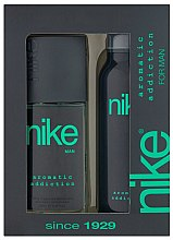 Parfumuri și produse cosmetice Nike Men Aromatic Addiction - Set (deo/200ml + deo/spray/75ml)