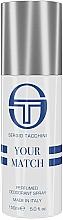 Parfumuri și produse cosmetice Sergio Tacchini Your Match - Deodorant pafumat