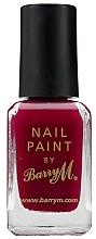 Parfumuri și produse cosmetice Lac de unghii - Barry M Nail Paint