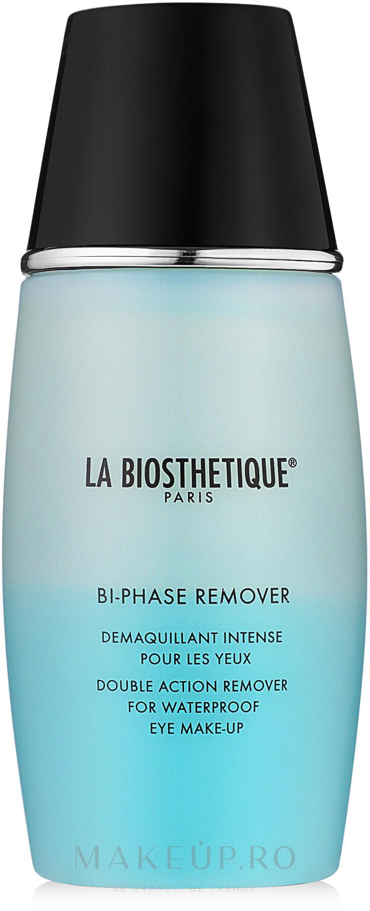 Demachiant bifazic pentru machiaj impermeabil - La Biosthetique Belavance — Imagine 100 ml