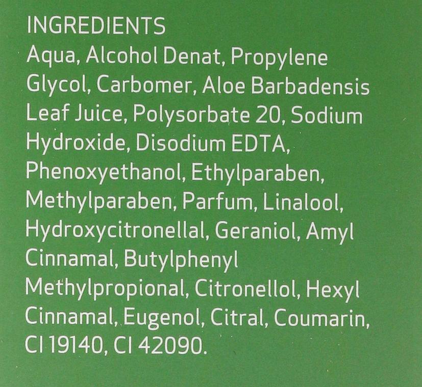 Gel pentru față și corp - SesDerma Laboratories Hidraloe Aloe Gel — Imagine N4
