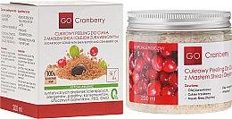 Parfumuri și produse cosmetice Scrub de zahăr cu unt de Shea și ulei de afine - GoCranberry