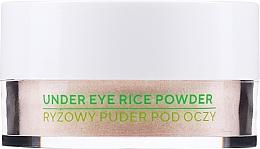 Parfumuri și produse cosmetice Pudră de orez pentru pielea din jurul ochilor - Ecocera Under Eye Rice Powder