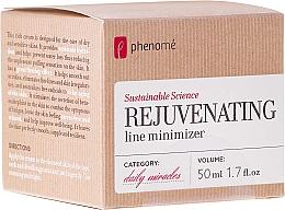 Parfumuri și produse cosmetice Cremă pentru piele uscată și sensibilă - Phenome Sustainable Science Rejuvenating Line Minimizer