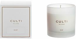 Parfumuri și produse cosmetice Lumânare aromată - Culti Milano Candle Bianco Velvet