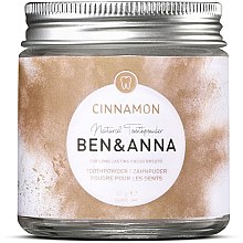 Parfumuri și produse cosmetice Praf de dinți - Ben & Anna Toothpowder Cinnamon