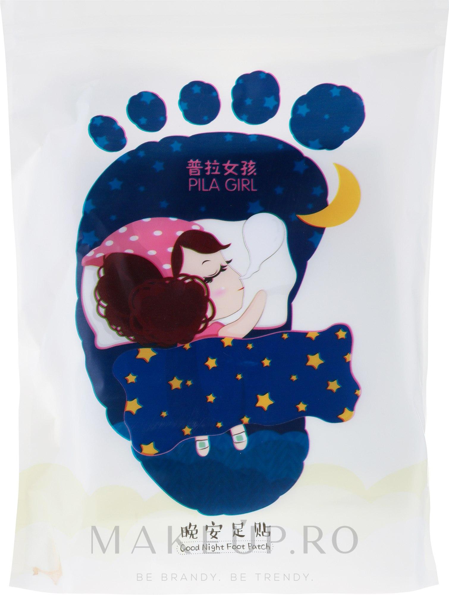 Set plasturi pentru picioare - Pilaten Good Noght Patch — Imagine 14 buc