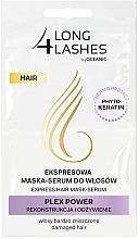 Parfumuri și produse cosmetice Mască-ser pentru păr - Long4Lashes Hair Plex Power
