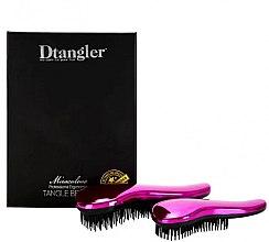 Parfumuri și produse cosmetice Set perii de păr - KayPro Dtangler Miraculous Pink (2xbrush)